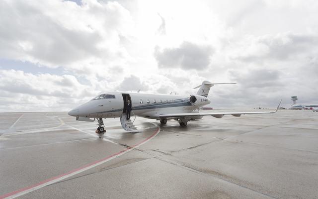 Luxaviation Aircraft