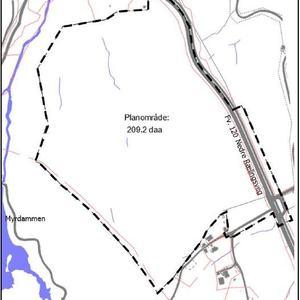 Forsidebilde - Tjonåsen planområde