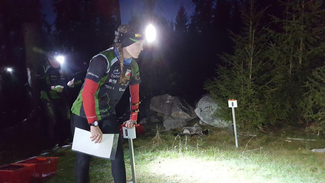 Evine Westli Andersen, Løten OL klar til start. (Foto: Stein Arne Negård)