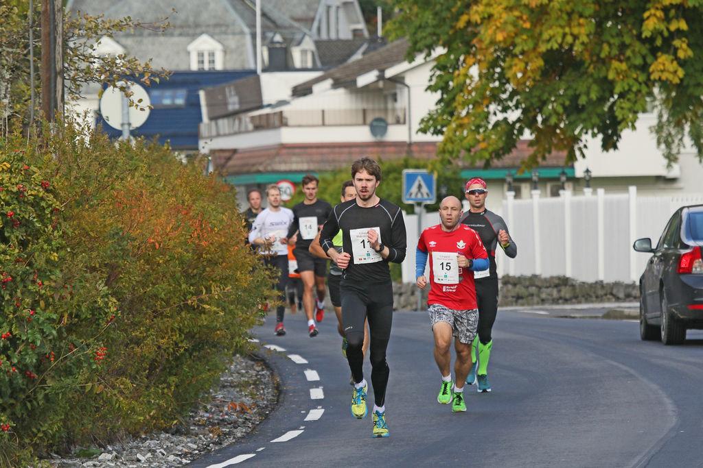 Bendik Grimsbø vant på tiden 1.15.43. Einar Orten Trovåg perset med tiden 1.19.32. Foto - Svein Hjelmeset