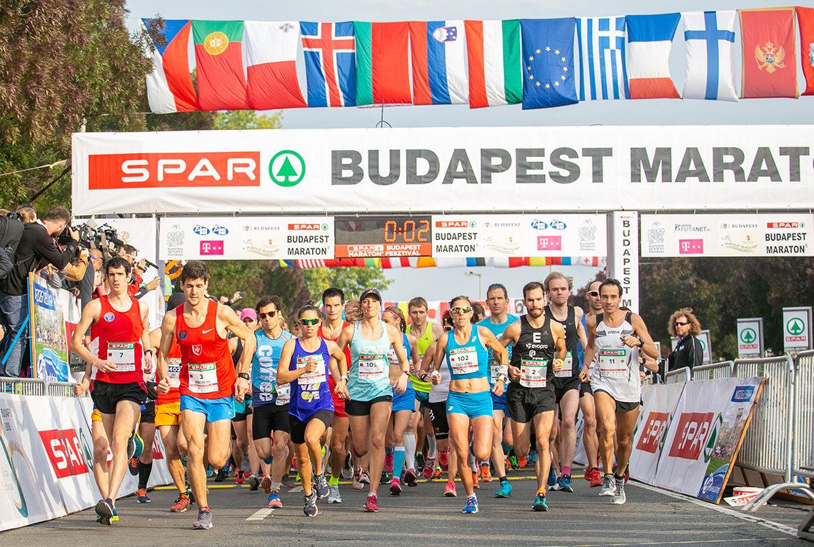 Budapest Marathon ble i helga arrangert for 33. gang. (Alle foto: arrangøren)