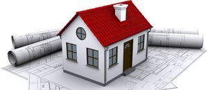 Tegning av bygg, byggesøknad, byggeveileder