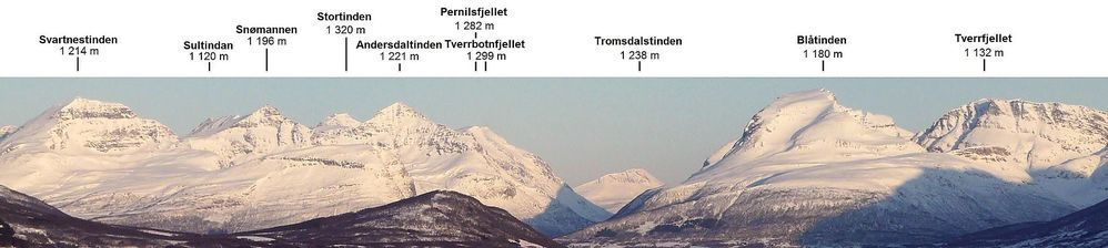 samisk navn på Andersdaltind