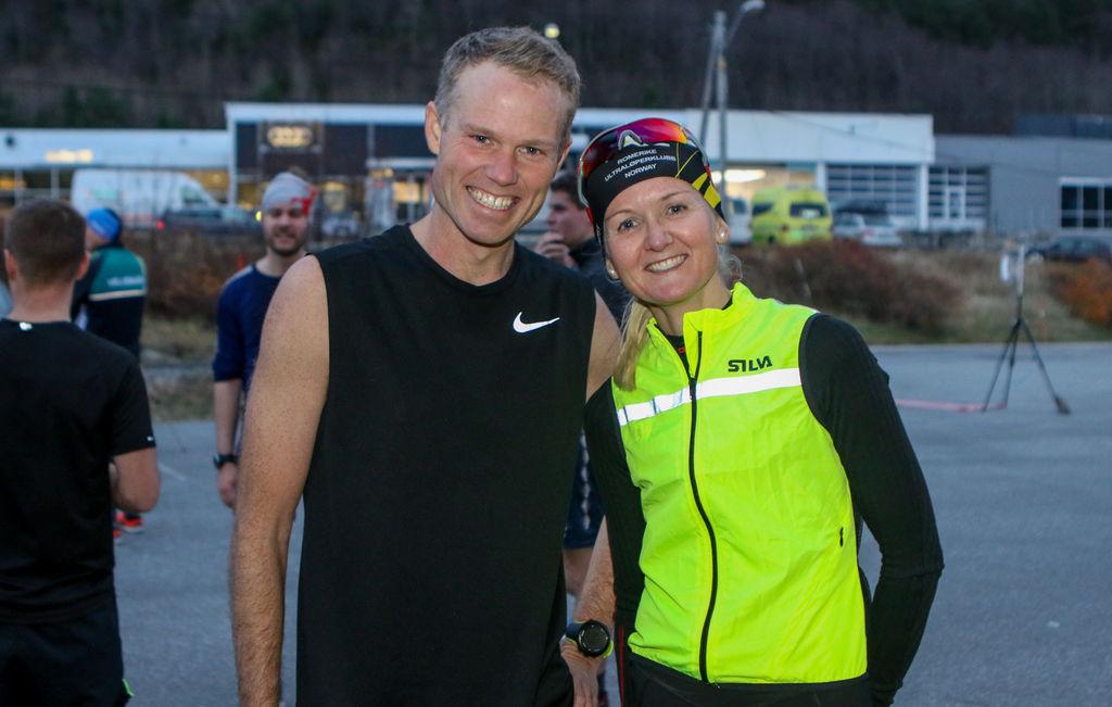 Martin Ødegård og Louise Skak fra Danmark, nå bosatt i Ålesund. Foto: Martin Hauge-Nilsen.