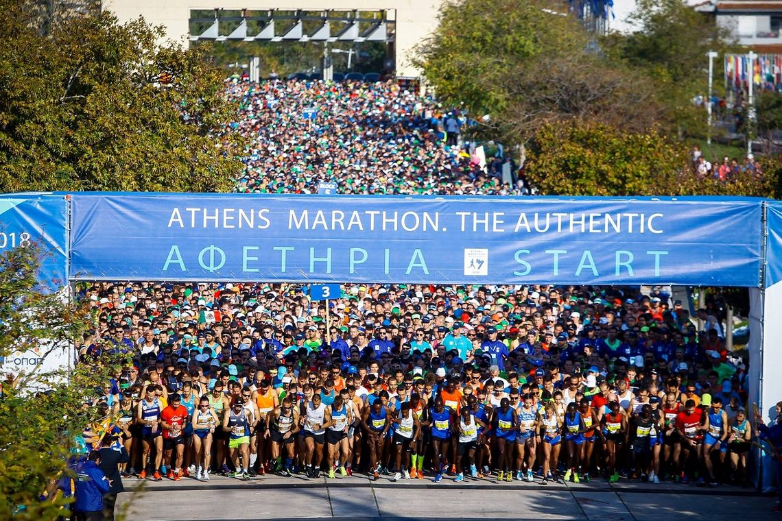 Athens Marathon - the authentic! (Foto fra løpets facebookside)