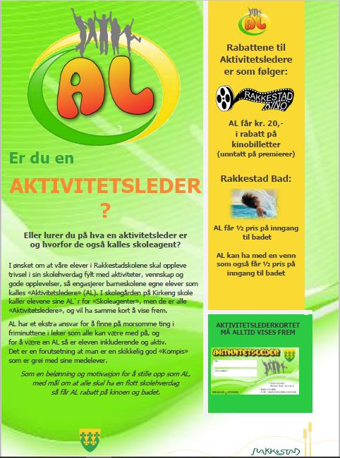 Plakat for Aktivitetsledere ved barneskolene i Rakkestad kommune.png