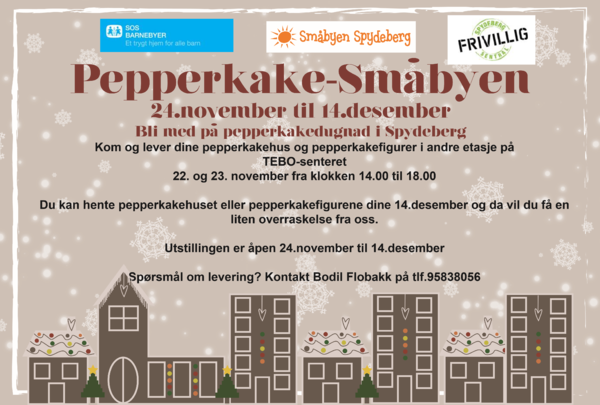 Pepperkake-småbyen