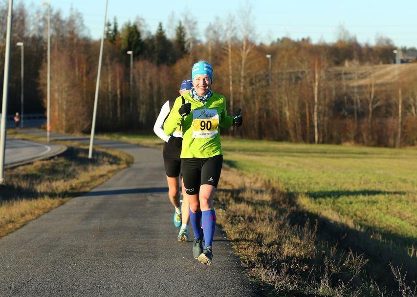 Vintermaraton2018 - Therese Falk damevinner på maraton (1280x912)