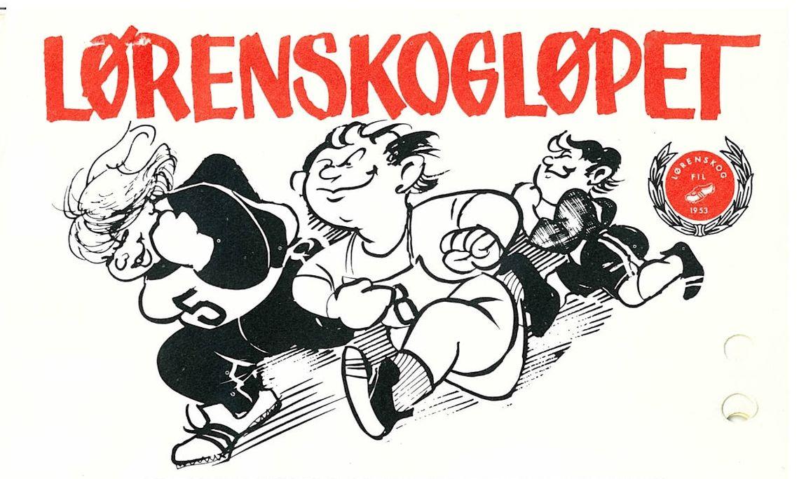Illustrasjon fra programmet 1982, tegnet av Britt Haaland