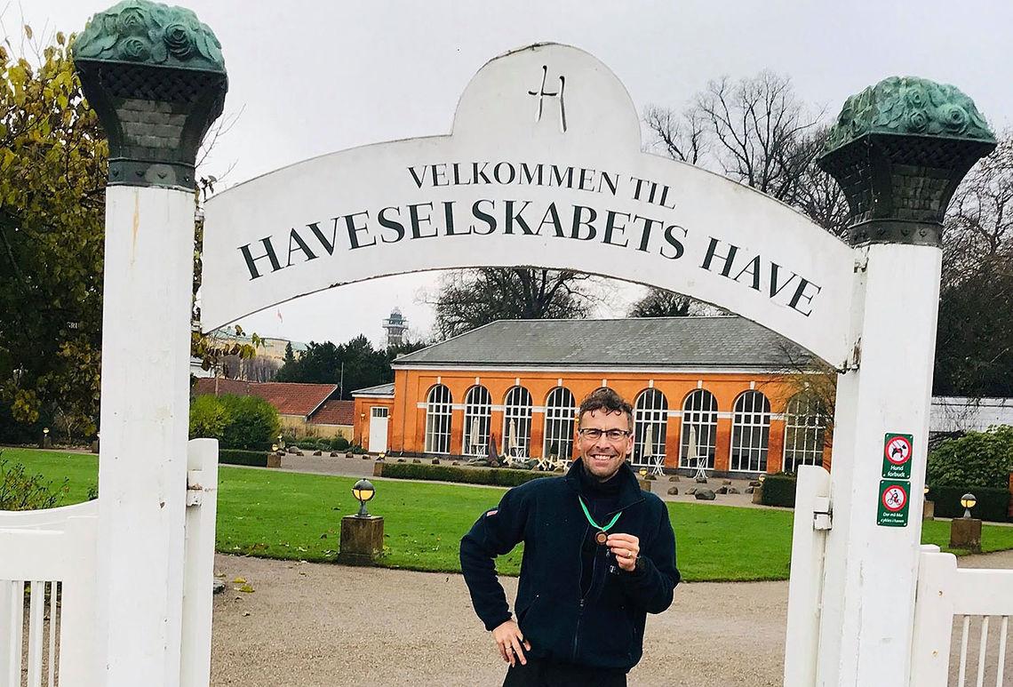 Villdyret våkner i Danmark. Foto: privat