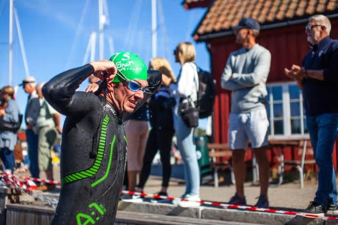 Idylliske Son i Akershus vil danne rammen for NM på de kortere triatlondistansene. (Foto: Samestad / Vestby Avis)