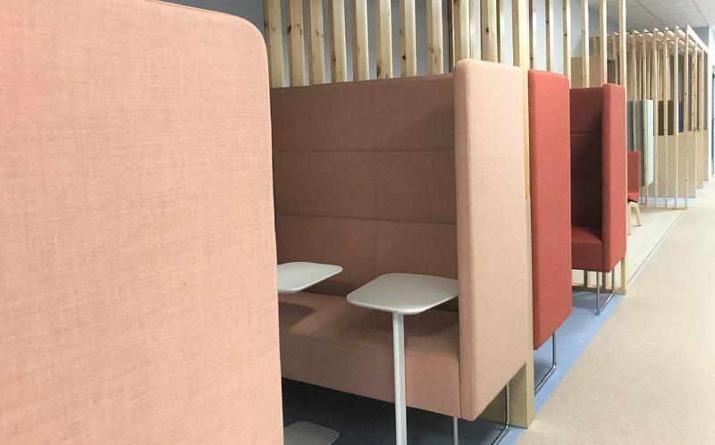 Bilde fra de nye lokalene til NAV Melhus