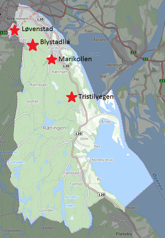 Oversiktskart over skøytebaner i Rælingen.png