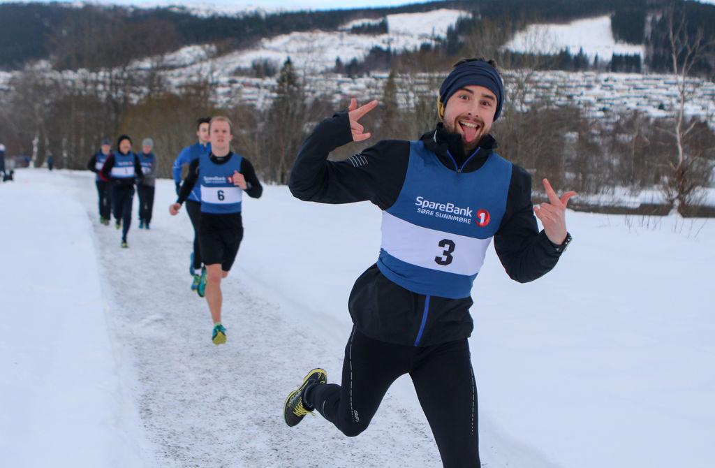 Tarjei Engeset Ofstad, Volda vant Rotevatnet Rundt. Foto: Martin Hauge-Nilsen