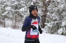 Sarvin Sivaperuman fra Lørenskog FIL var yngste deltager på Haga. Han vant M14-15 og var 12. mann totalt. (Foto: Olav Engen)