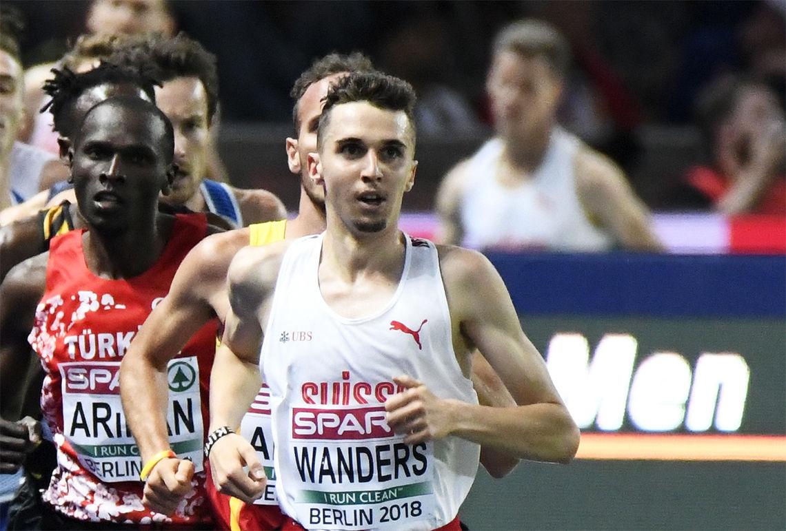 Julien Wanders knuste en Mo Farah-rekord da han løp halvmaraton på 59.13. (Arkivfoto: Bjørn Johannessen)