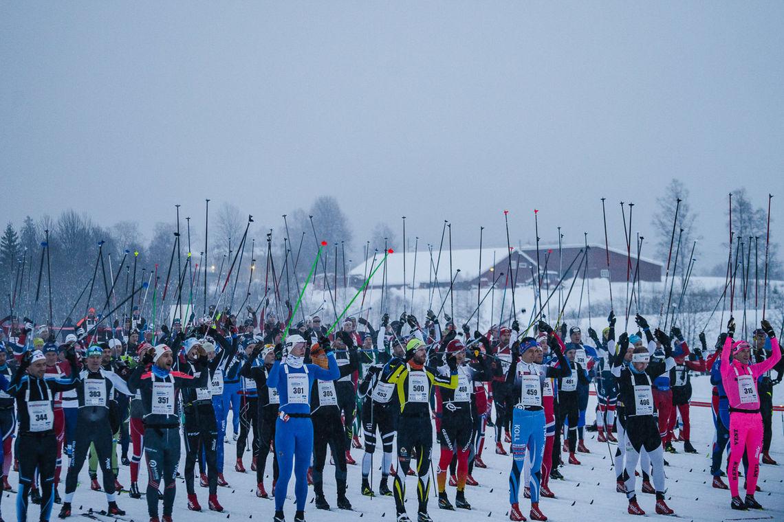 I år flyttes start og mål på Holmenkollmarsjen til Brovoll. (Foto: Christian Haukli)