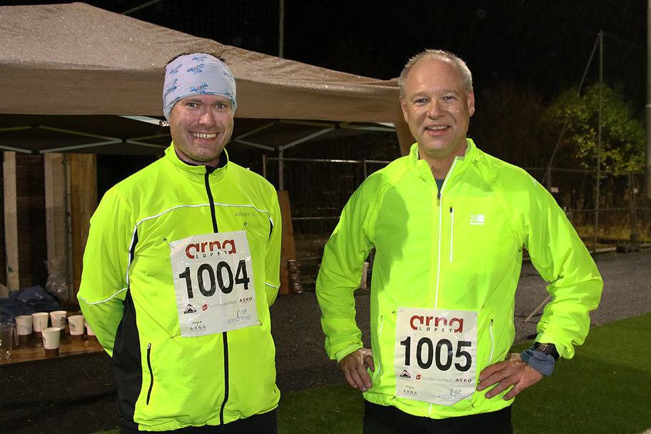Harald Høgh og Trond leikvoll tar ofte turen til Espeland
