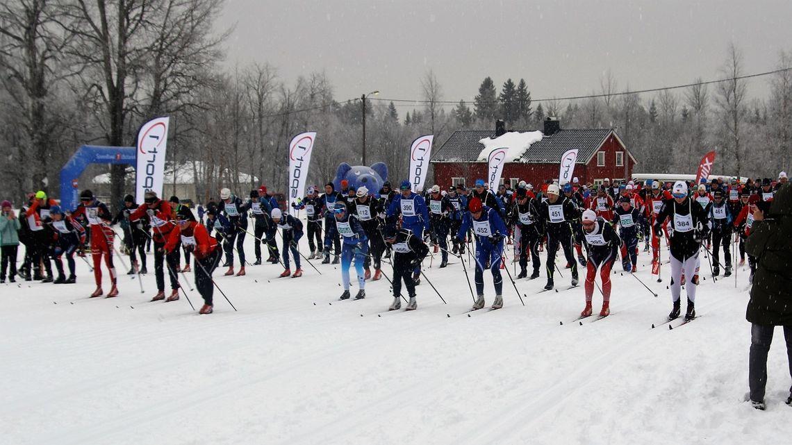 Fra Trysil Skimaraton 2019. (Foto: Sigurd Westgård)