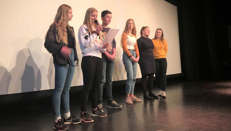 Bilde av ungdomsrådet i Melhus kommune