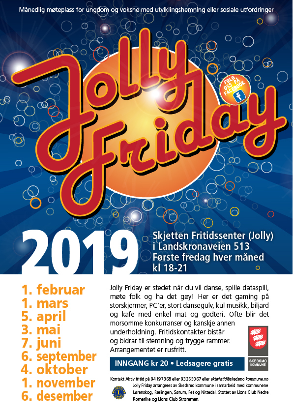 Jolly Friday 2019