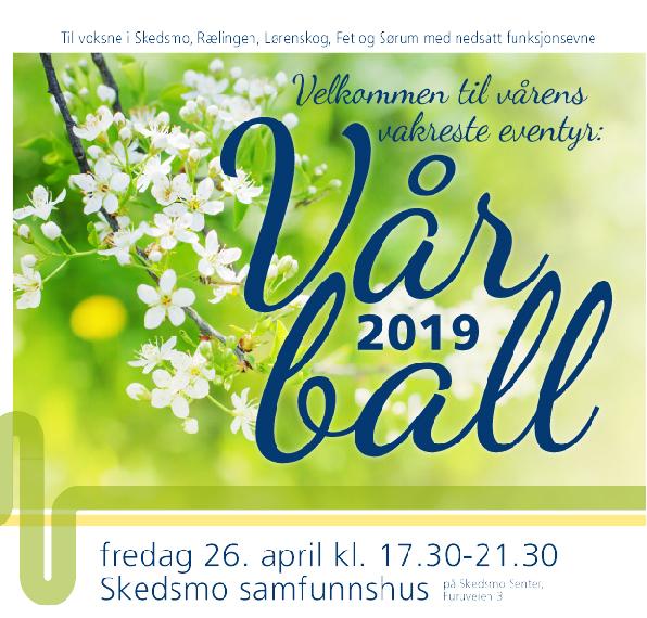 Vårball 2019 illustrasjon