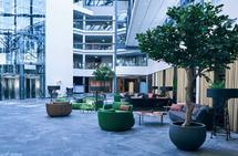 Hotellet: Quality Airport Hotell Gardermoen har blitt utvidet og oppusset nylig, og vi gleder oss til å se resultatet. Foto: Hotellkjeden