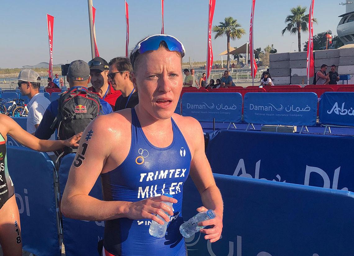 Lotte Miller kunne glede seg over en sterk start på sesongen. (Foto: Norges Triatlonforbund)
