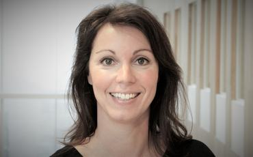 Foto: Linn Johnsen-Haglund er Senior Vice President HR for Kongsberg Digital.