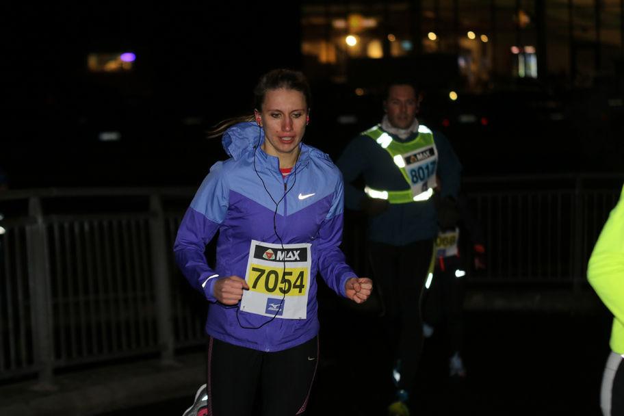 Amalie Svanberg, her under det 1. løpet i år