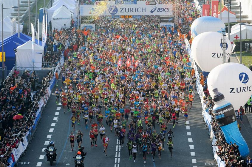 Zurich Marató de Barcelona. Foto: Arrangør.