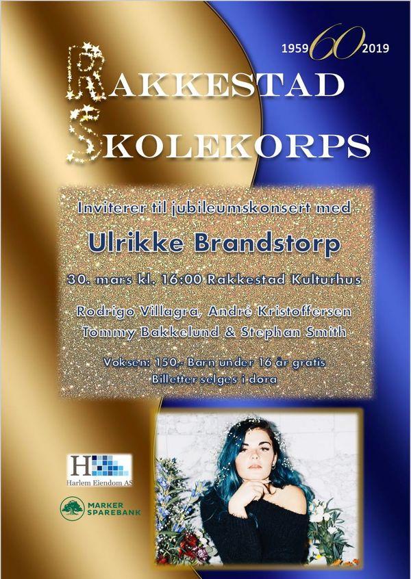 Plakat Rakkestad Skolekorps -Jubileumskonsert 30.mars 2019 Rakkestad kulturhus.jpg. Foto: Rakkestad skolekorps