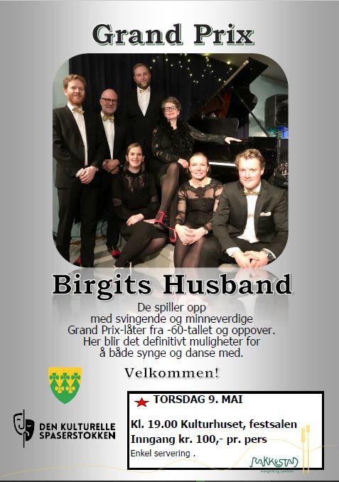 Plakat Birgits Husband - Grand Prix - 9.mai 2019 Rakkestad kulturhus.jpg