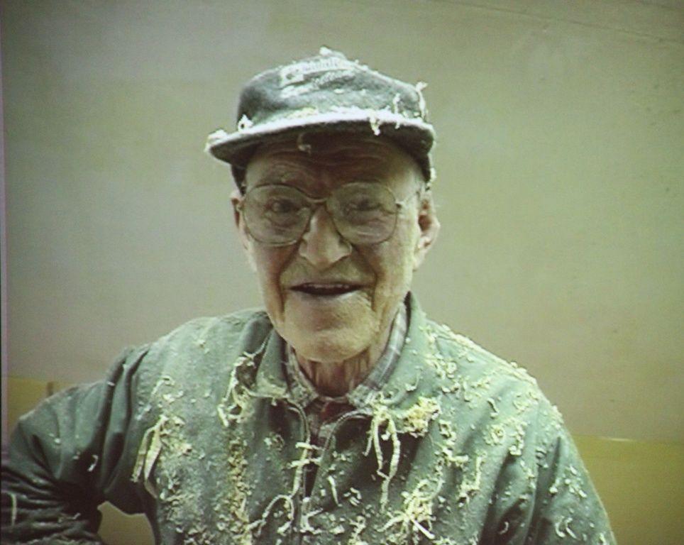 Konrad Brunstad himself fra Konradfilmen. Konradløpet er til ære for Konrad Brunstad (Mons-Konrad 1910-2000). Konrad begynte først å løpe i sein alder. Foto: Martin Hauge-Nilsen