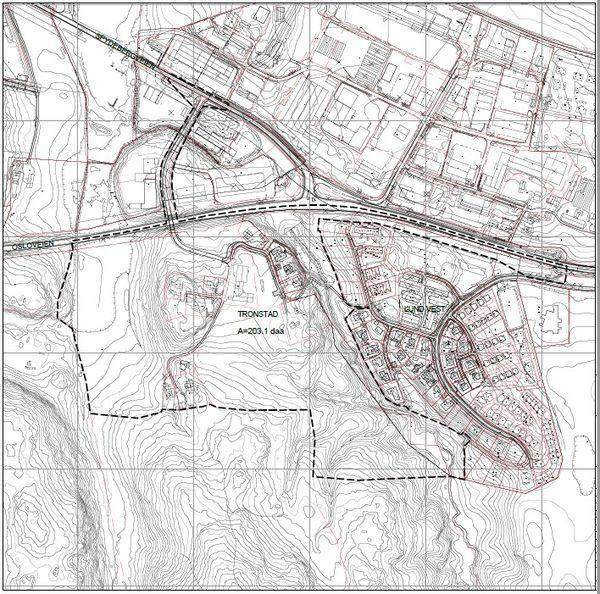 Bilde planavgrensing Tronstad