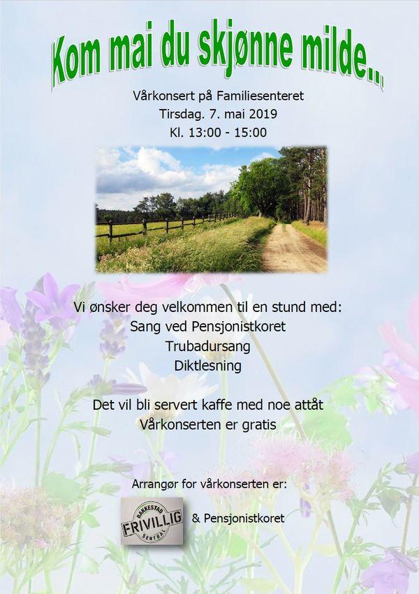 Plakat Vårkonsert på Familiesenteret 07.mai-19 - Rakkestad kommune.jpg