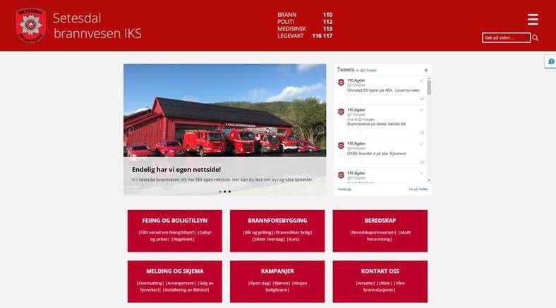 SBIKS hjemmeside