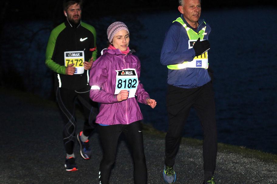 Gudni Rørtveit rundt Liavatnet under sesongens 4. løp