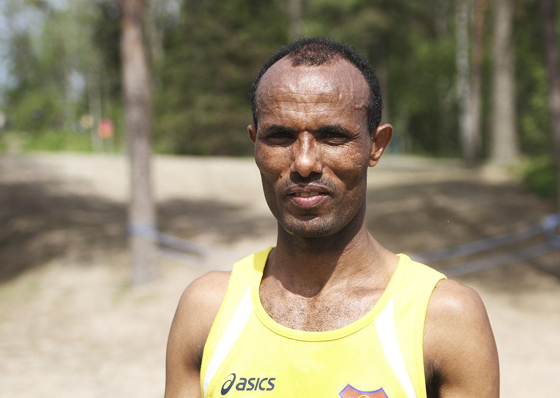 Weldu Negash leverer årvisst meget gode maratonløp. (Arkivfoto: Runar Gilberg)