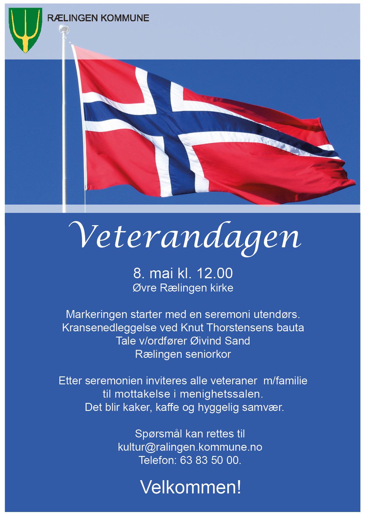 Veterandagen invitasjon 2019