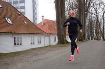 Start rolig: Når du stiller til start i et halvmaratonløp, så er det viktig at du starter rolig, mener Lina Rivedal. Foto: Marianne Røhme