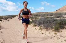 Nina Wavik Ytterstad trente mer enn normalt da hun var på treningsleir på Lanzarote. (Foto: Runar Gilberg)