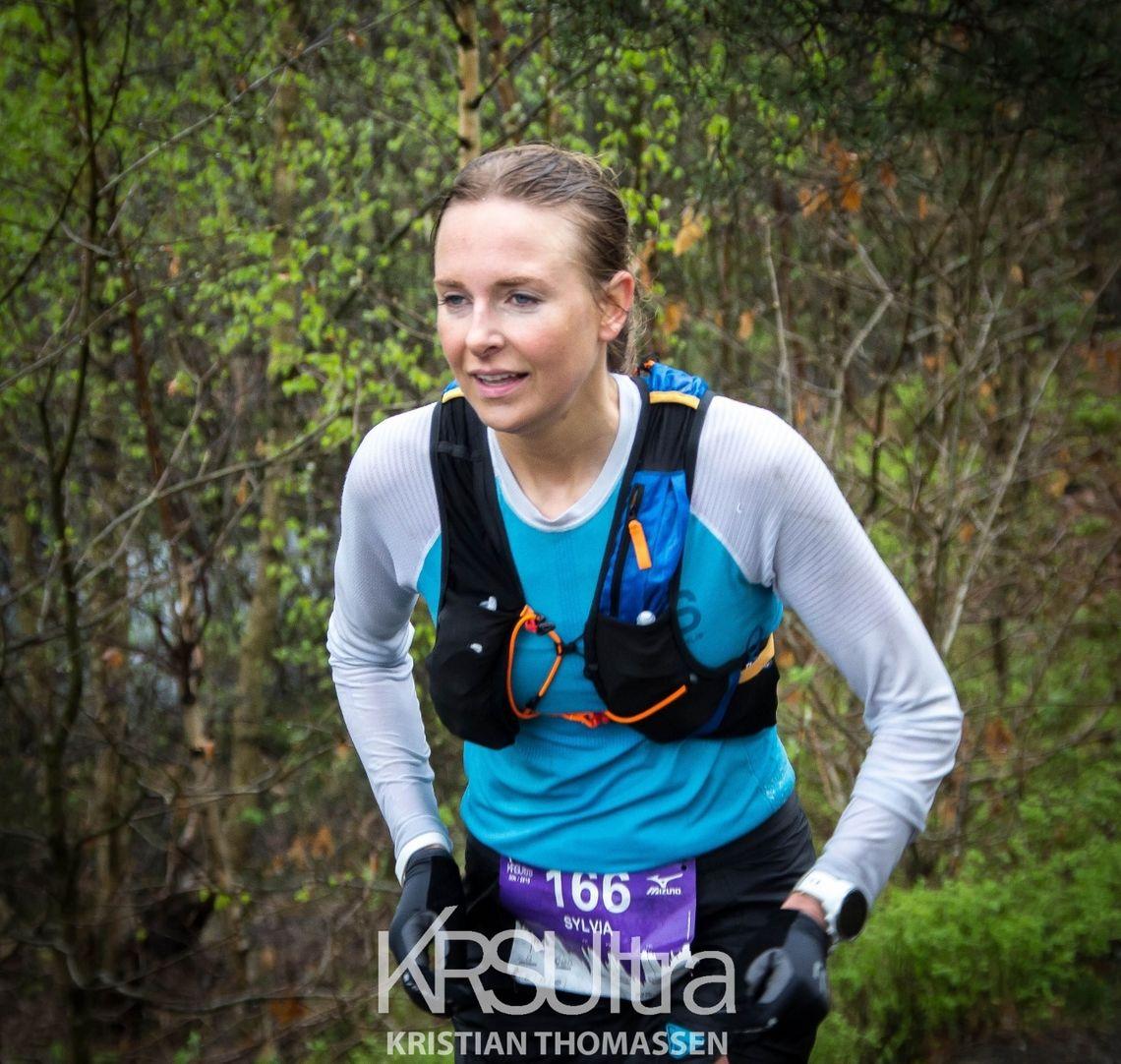 Sylvia Nordskar vant kvinneklassen overlegent. (Foto: KRSUltra/Kristian Thomassen)