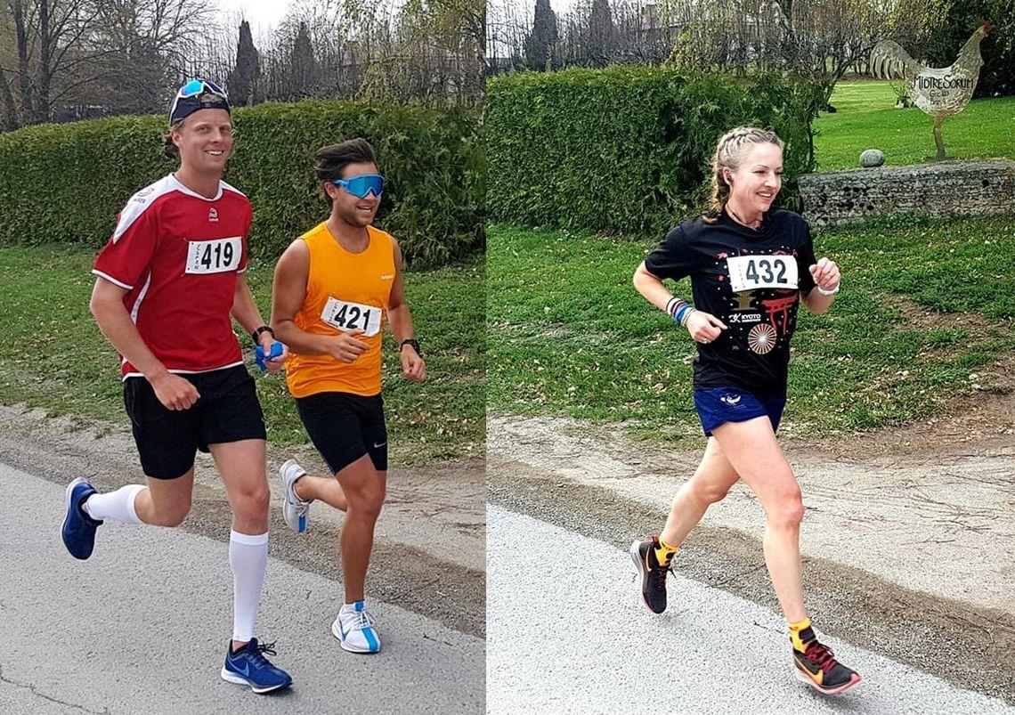 Vinnerne Espen, Christoffer og Therese. (Foto: Frank Sandli)