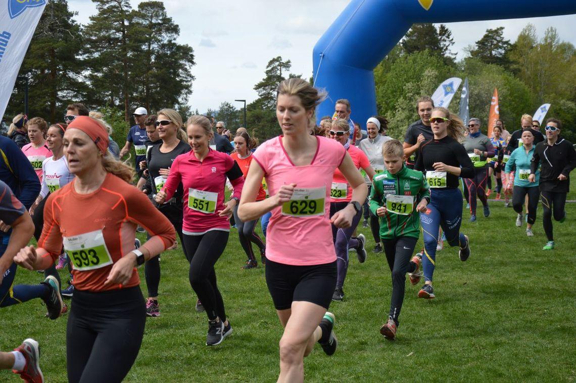 Økt deltakelse Arrangøren melder om økt deltakelse i årets Ekebergstafetten/Ekebergløpet. Foto: Arrangør