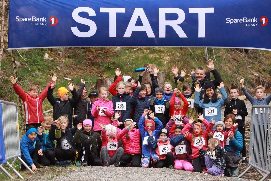 I Russarstegen Opp utgjør skoleungdom over halvparten av deltagerne. )Foto: Øyvind Eddy Skoge)