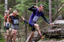 Erik Udø Pedersen holdt konkurrentene bak seg i Råskinnet. (Foto: Sylvain Cavatz)