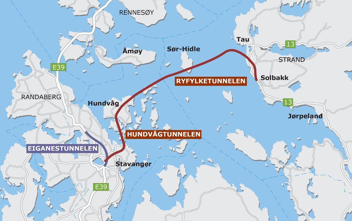 Ryfastsambandet-kart