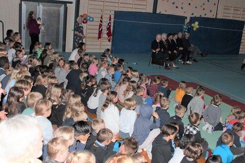 Amfiløsning i flerbrukshall tas i brukSmestad skole