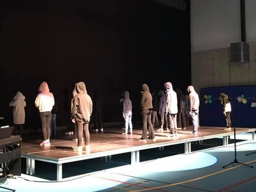 Underholdning ved barna Smestad skole